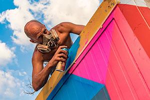 graffiti paint street art ozorafestival