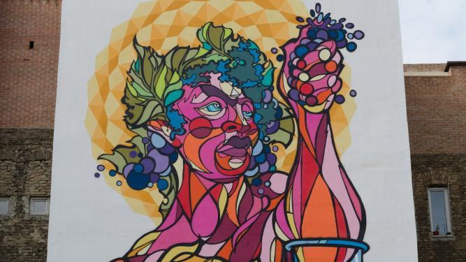graffiti paint streetart art szinesvaros